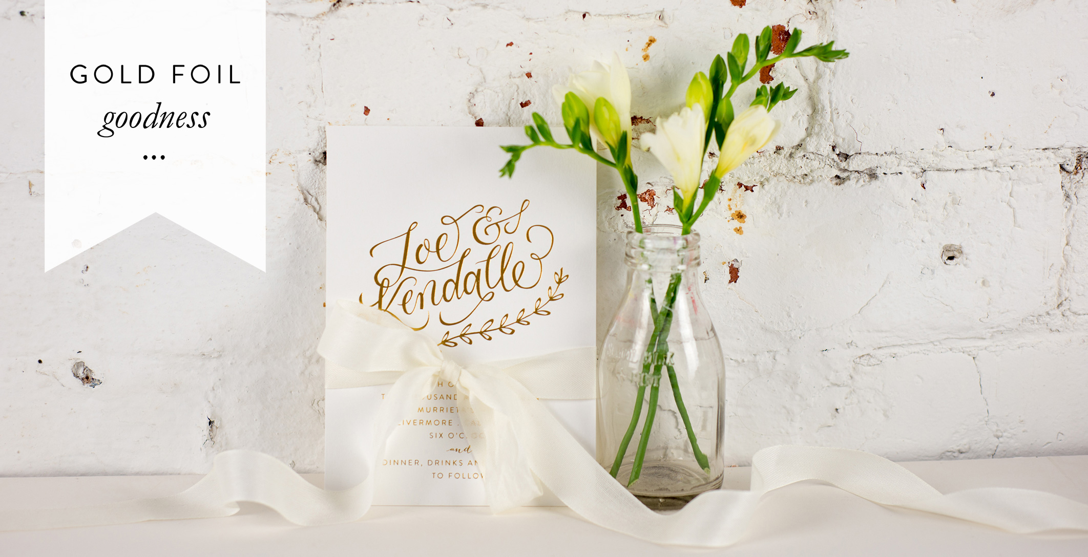 gold foil wedding invitations, stationery, stationary