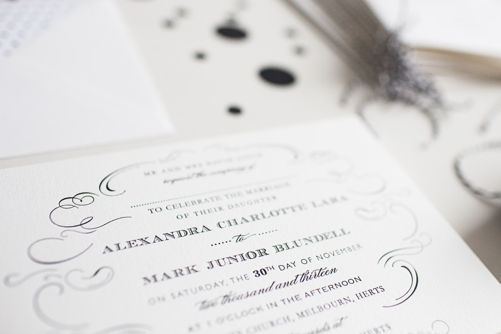 How many do I order? Wedding invitations - letterpress