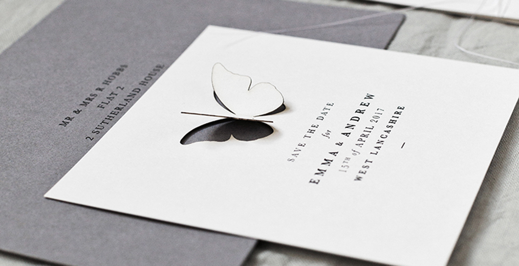 bespoke wedding stationery stationary