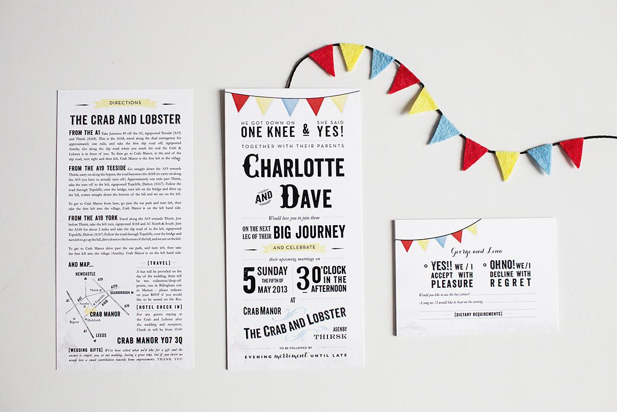 seaside wedding invites