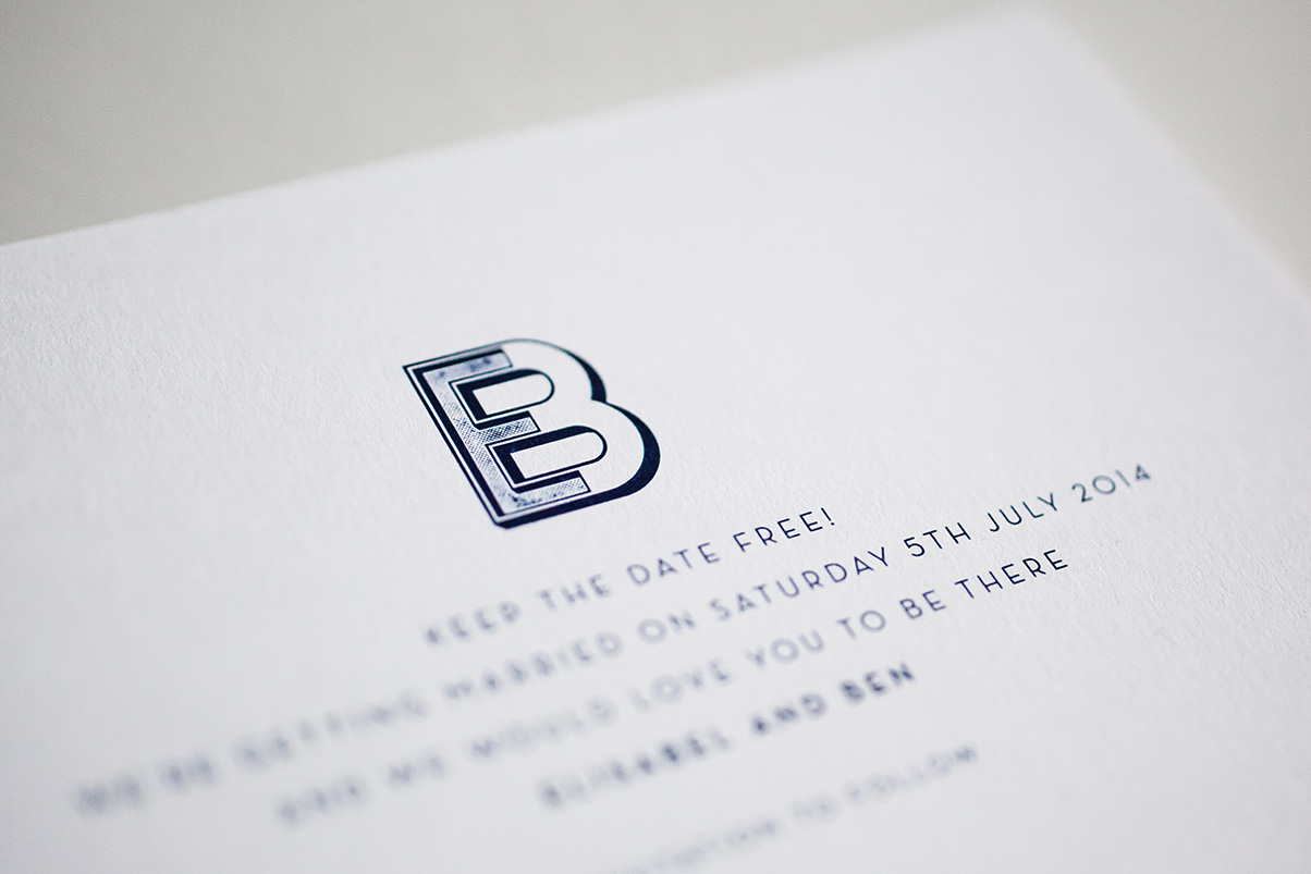 personalised save the dates