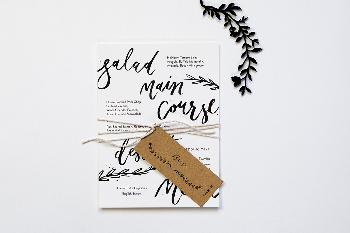 bespoke gold wedding stationery