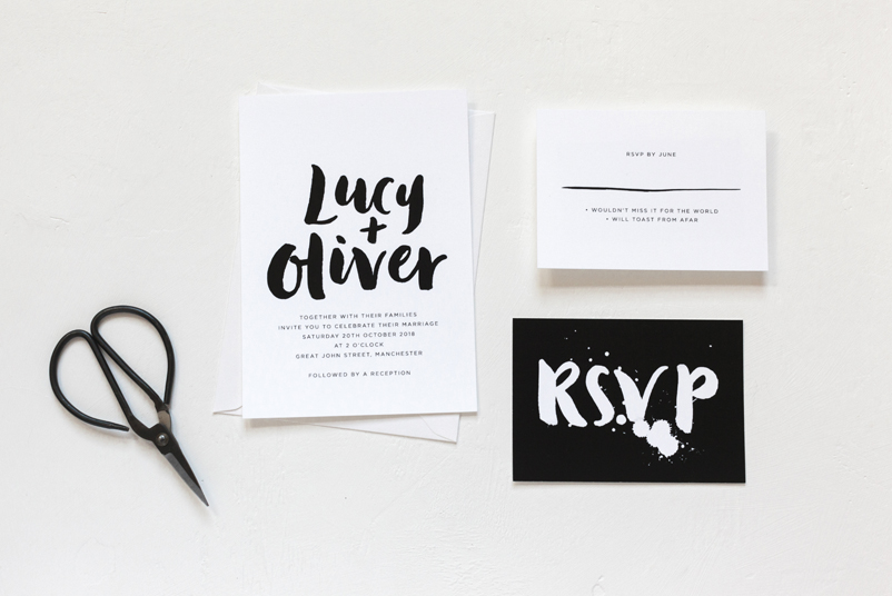 bespoke wedding stationery uk