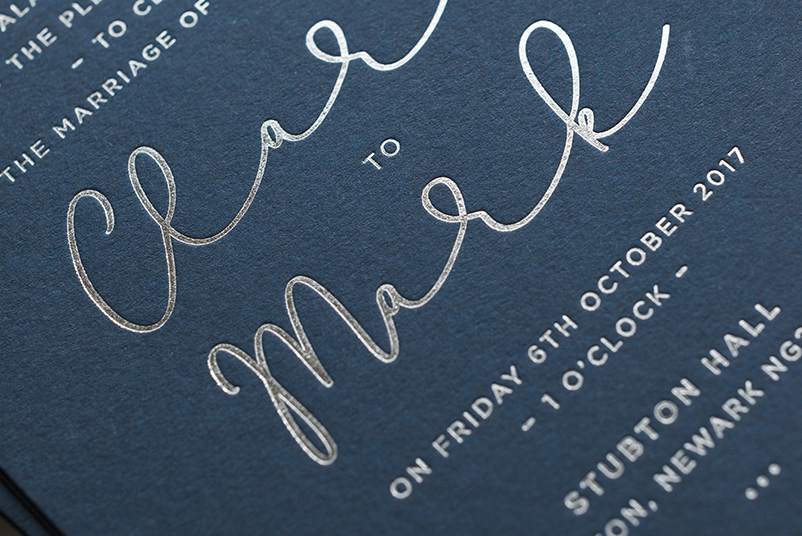 foil printed invites uk