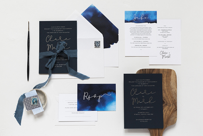 Wedding stationery in the UK